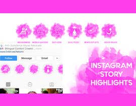 #13 for A design for my instagram story highlights af mustafa8892