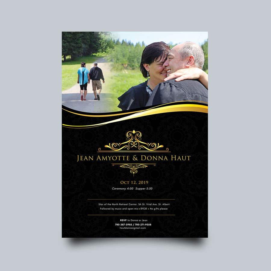 Bài tham dự cuộc thi #17 cho wedding invites