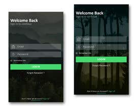 #6 for Background for a login screen of a mobile app by mohammedyasik
