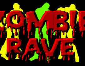 #65 para Logo Design for ZOMBIE RAVE por olhorse