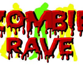 #66 para Logo Design for ZOMBIE RAVE por olhorse