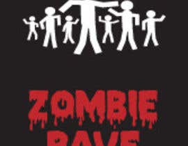 #78 para Logo Design for ZOMBIE RAVE por sergiovc