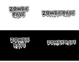 #74 for Logo Design for ZOMBIE RAVE af GeorgeOrf