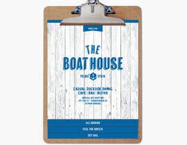 #6 untuk I need some Graphic Design for the Boathouse Restaurant and Bar oleh CourtneySchwabe