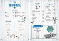 Graphic Design Entri Peraduan #8 for I need some Graphic Design for the Boathouse Restaurant and Bar