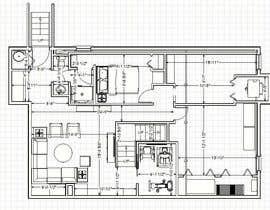 Nro 20 kilpailuun Design Floor plans for finished basement käyttäjältä ronaaron2