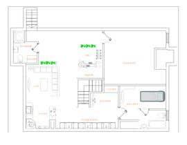 Nro 32 kilpailuun Design Floor plans for finished basement käyttäjältä amrsamir96