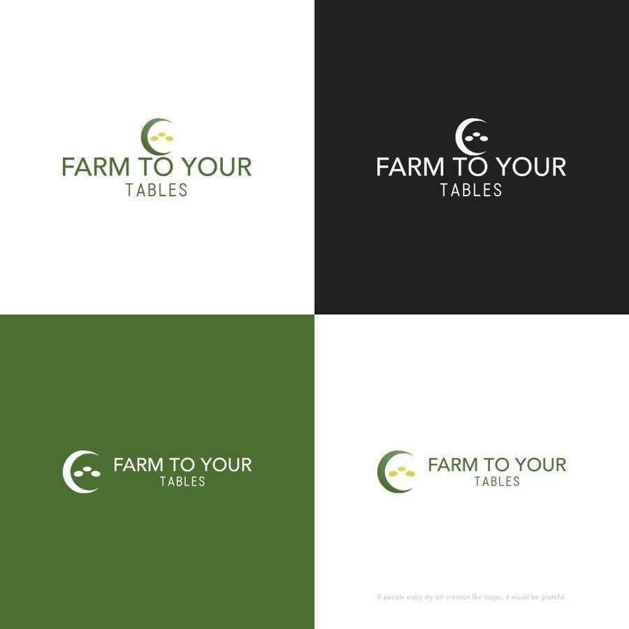 Inscrição nº 48 do Concurso para Need Logo For my ecommerce website  (farm to your tables)