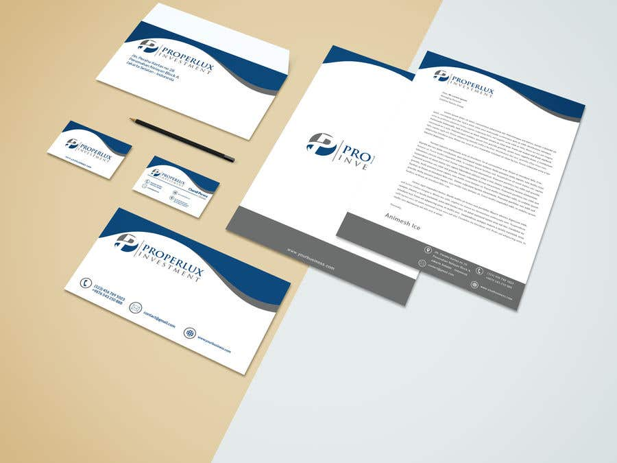 Kilpailutyö #60 kilpailussa I need the stationery complete, email signature and social media design