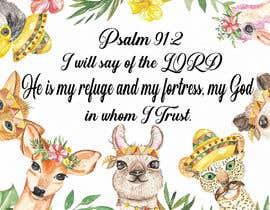 Nro 17 kilpailuun Design a prayer baby blanket käyttäjältä ronjithsorker021