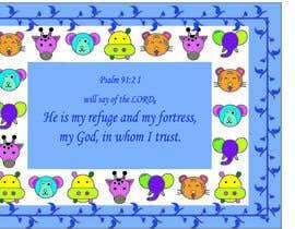 Nro 19 kilpailuun Design a prayer baby blanket käyttäjältä stefibartola