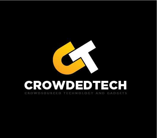 Kilpailutyö #141 kilpailussa Logo Design for CrowdedTech