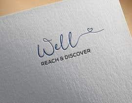 #32 para WELL reach and discover logo por mohasinalam143