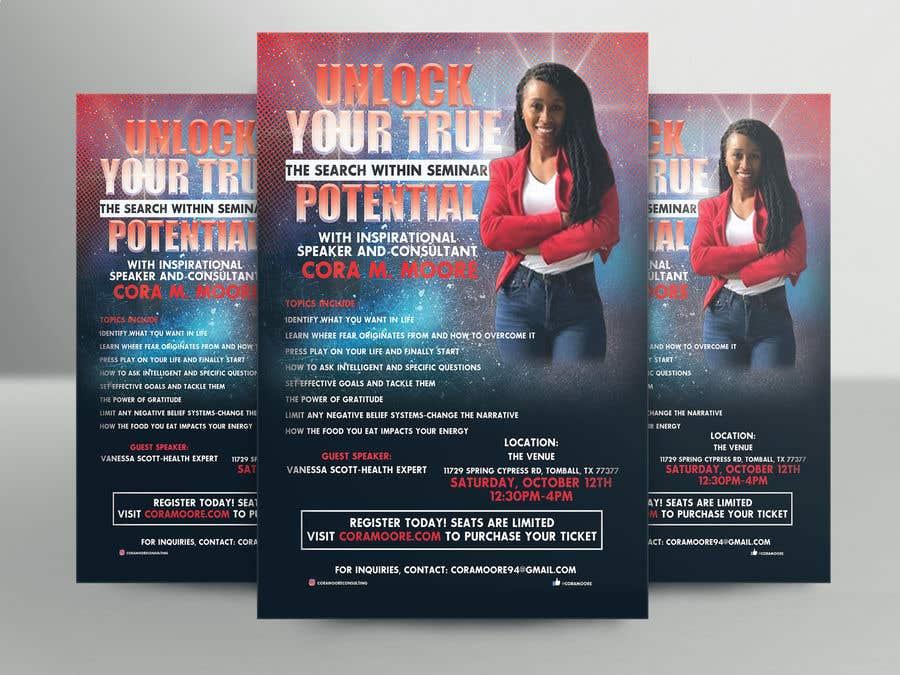 Penyertaan Peraduan #18 untuk Build an Event Flyer