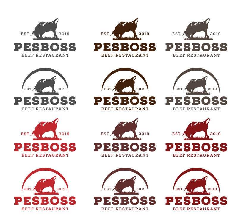 Inscrição nº 615 do Concurso para Beef Restaurant Logo Designs