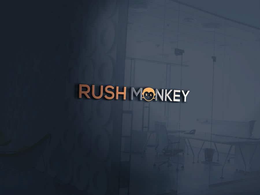 Penyertaan Peraduan #7 untuk Make for Us a Logo - Rush Monkey