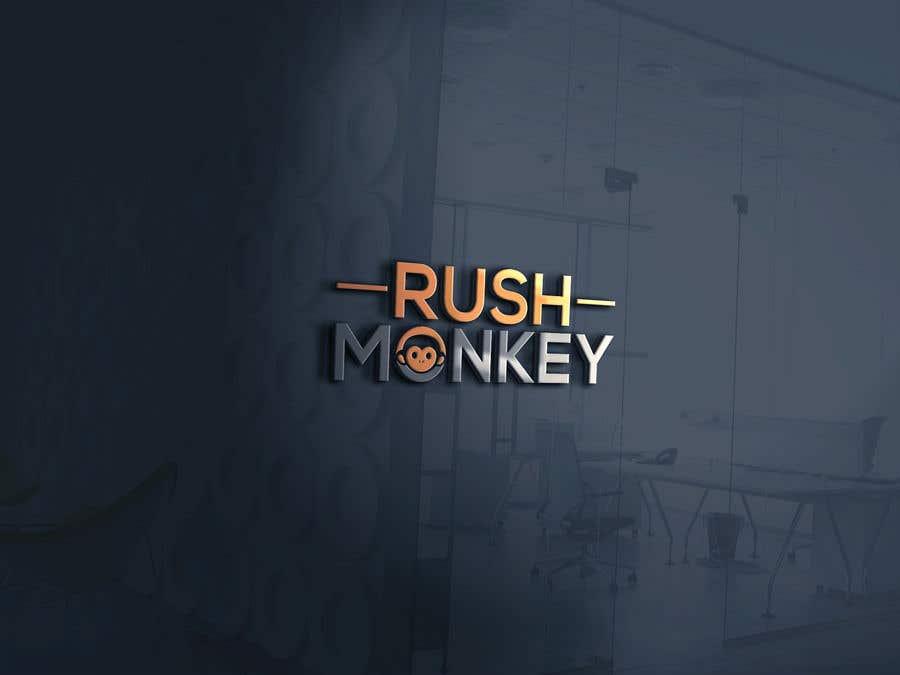 Penyertaan Peraduan #8 untuk Make for Us a Logo - Rush Monkey