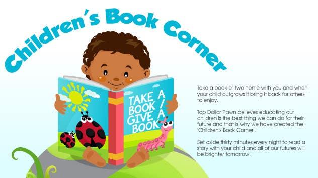 Inscrição nº                                         5                                      do Concurso para                                         Illustration Design for The Children's Book Corner at Top Dollar Pawn