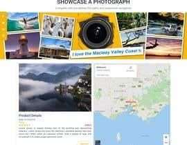 #25 , webpage designed to showcase a photograph 来自 psomankar11