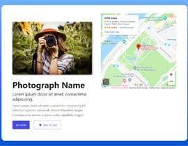 Nro 28 kilpailuun webpage designed to showcase a photograph käyttäjältä SamadShamsi
