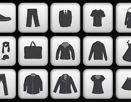 ondrejuhrin tarafından Icon or Button Design for describing clothing types için no 1