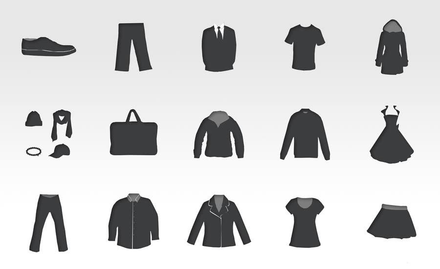 #2 for Icon or Button Design for describing clothing types by ondrejuhrin