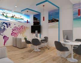 Nro 27 kilpailuun Diseño de interior y exterior de Agencia de Viajes (Interior and exterior design travel agency) käyttäjältä miguelcuamani