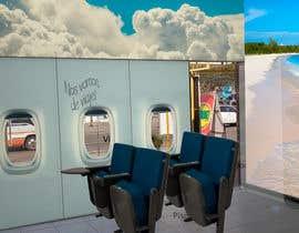 Nro 17 kilpailuun Diseño de interior y exterior de Agencia de Viajes (Interior and exterior design travel agency) käyttäjältä FenixLeyenda