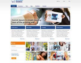 nº 10 pour Website Design for businnes website par tania06