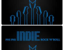 nº 55 pour Logo Design for Phi Phi Indie Rock & Roll par maxindia099