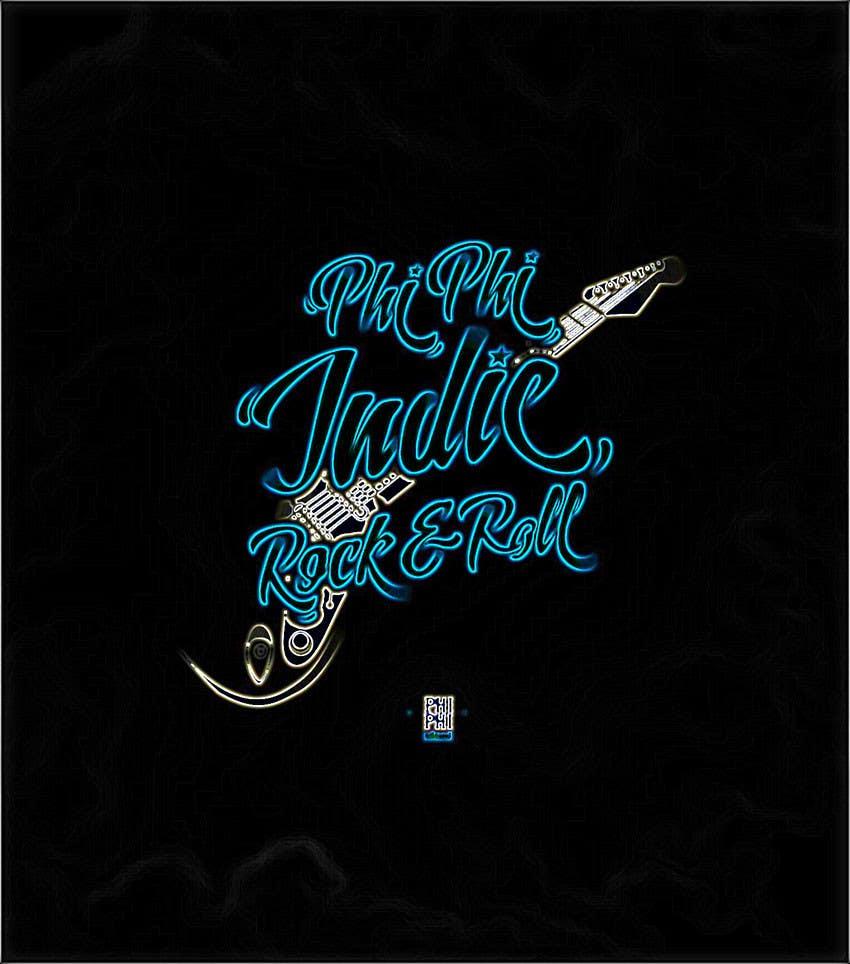 Konkurrenceindlæg #                                        21                                      for                                         Logo Design for Phi Phi Indie Rock & Roll