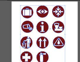 #7 for Redraw 11 icons for a booklet af consultusa