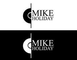 """#47 para modern, cool logo for dj  """"Mike Holiday"""" por mohsenaarefin"""