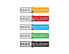 "#60 para modern, cool logo for dj  ""Mike Holiday"" por nilufab1985"