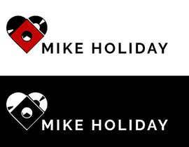 """#8 para modern, cool logo for dj  """"Mike Holiday"""" por Rafek1001"""