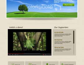 #162 untuk Website Design for 1 Tree Planted oleh Krishley