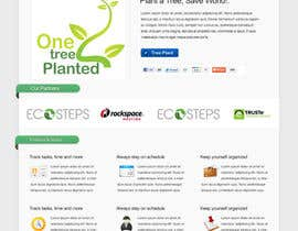#152 cho Website Design for 1 Tree Planted bởi designtechweb