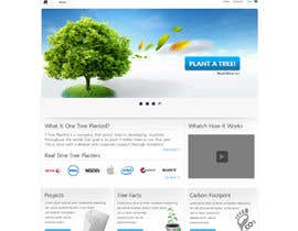 #83 para Website Design for 1 Tree Planted de JustLogoz