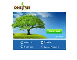 nº 161 pour Website Design for 1 Tree Planted par VIKKISoft