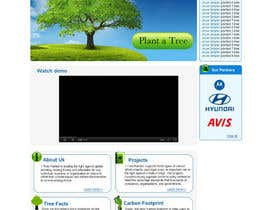 #149 для Website Design for 1 Tree Planted от VIKKISoft