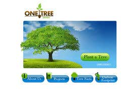 nº 151 pour Website Design for 1 Tree Planted par VIKKISoft
