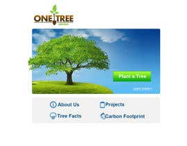 nº 160 pour Website Design for 1 Tree Planted par VIKKISoft