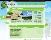 Graphic Design Contest Entry #55 for Website Design for 1 Tree Planted