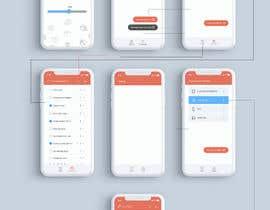 nº 13 pour Travel Checklist: UI design for mobile app par mohammadmusaddek