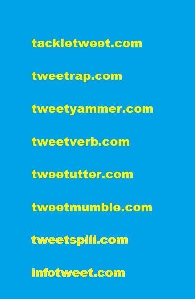 Kilpailutyö #11 kilpailussa Create a domain name for a new twitter service