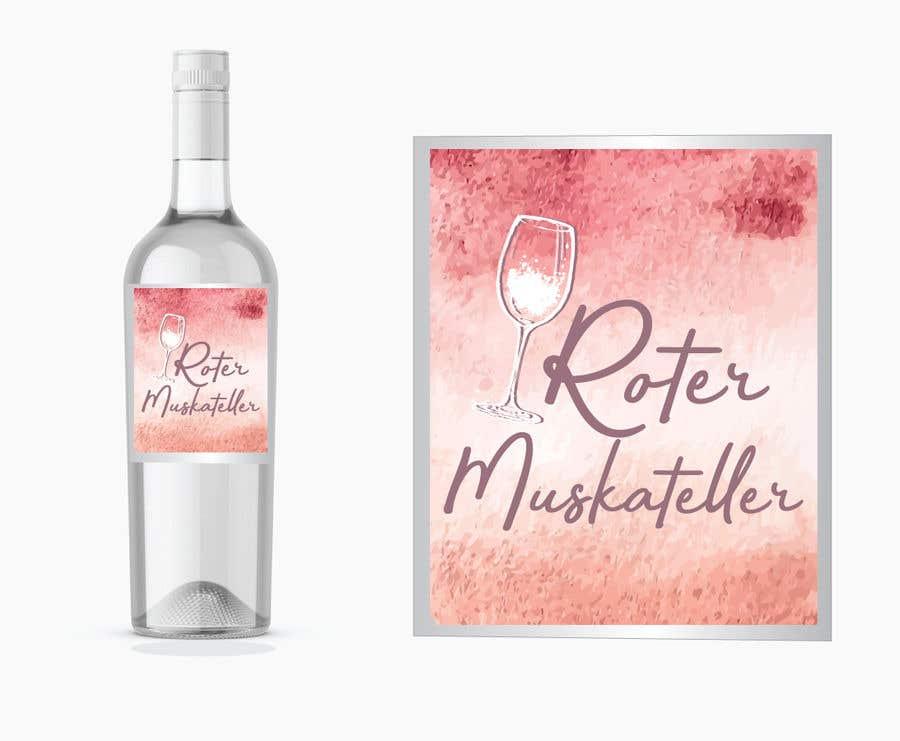 Proposition n°                                        12                                      du concours                                         wine bottle label design