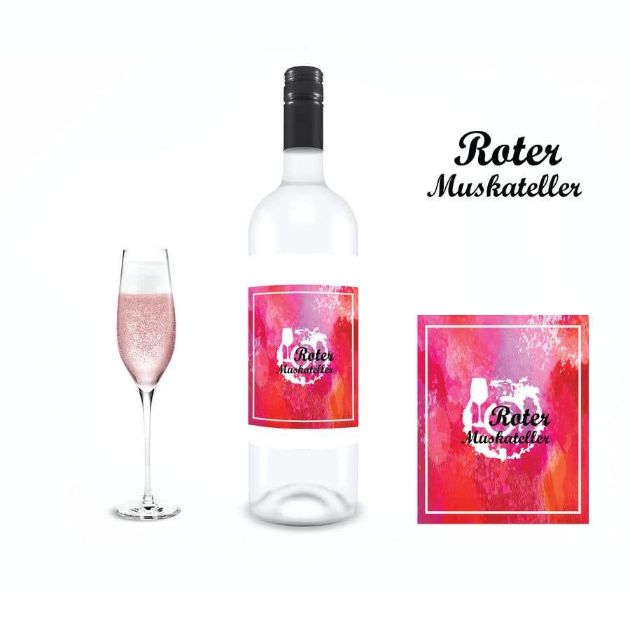 Proposition n°                                        22                                      du concours                                         wine bottle label design