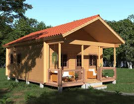 #58 for 3D Modeling - Best House model by frisa01