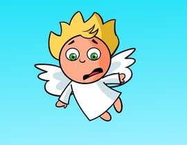 #8 for Cartoon for Angel Iphone Game af artinearth