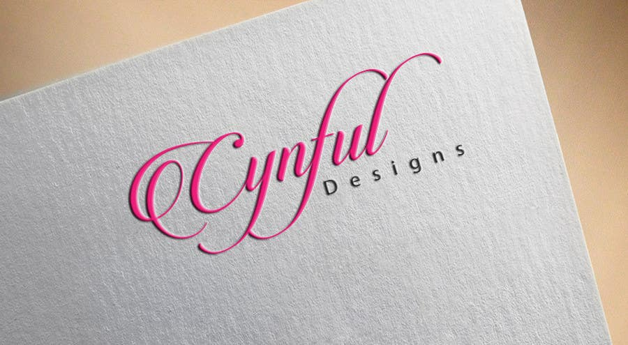 "Konkurrenceindlæg #                                        36                                      for                                         Design a Logo for ""Cynful Designs"""